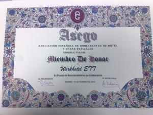 Título de Miembro de Honor